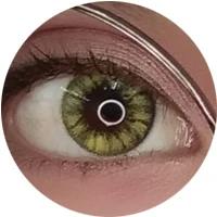 Sweety Holly Crystal Green Yellow Green Crystals Crystals Dark Brown Eyes