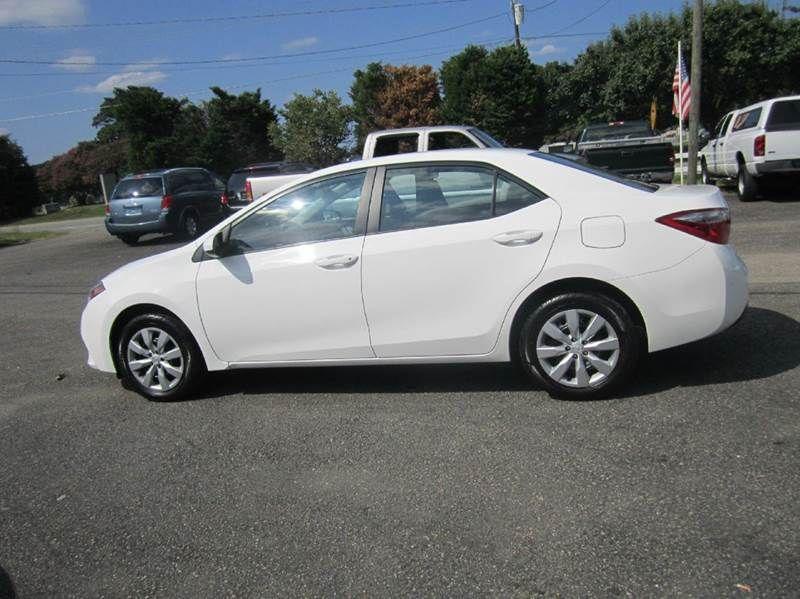 2014 #Toyota #Corolla LE 4dr Sedan In Smithfield NC - Landmark Auto Inc.