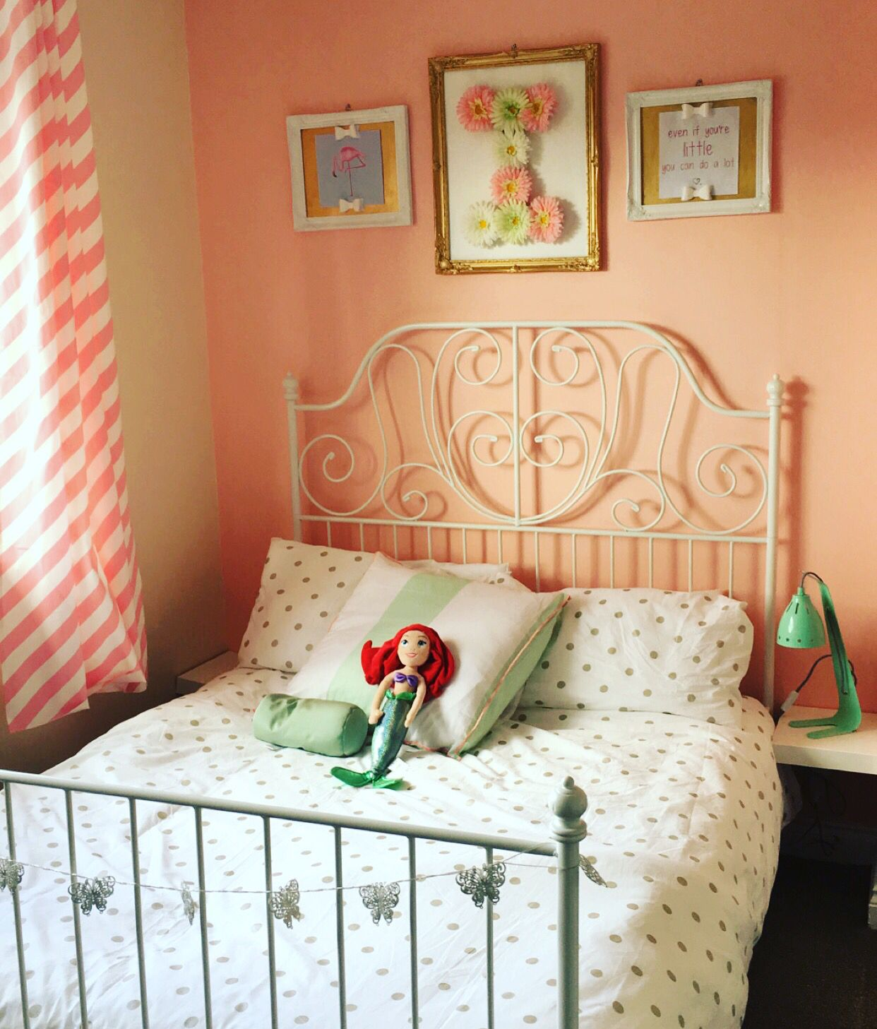 Peach and Mint Bedroom Mint bedroom, Home decor