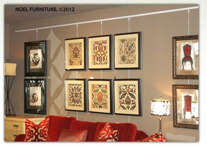 Walker Display Picture Hanging System Home Picture Hanging Home Decor Picture Display