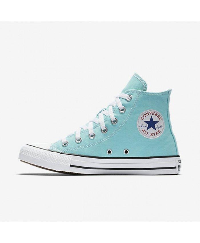 Converse Chuck Taylor All Star Seasonal Hi Trainers Color Blue  Women