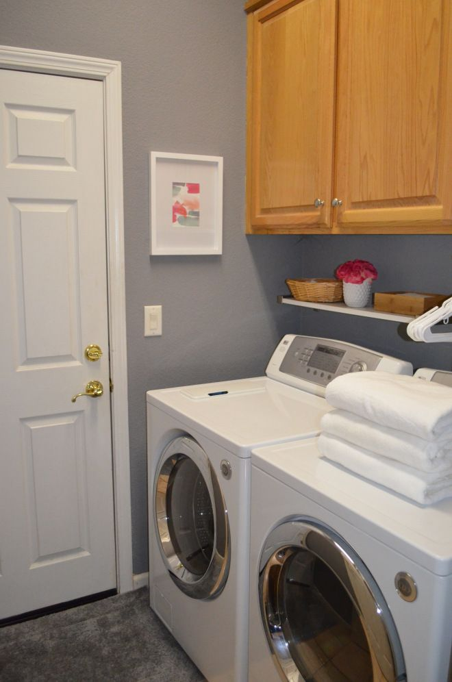 Seller Tip 14 Utility Sink Laundry Room Open Shelving