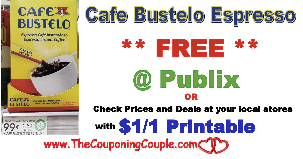 Cafe Bustelo Instant Espresso Freebie Coupons Still Available For Print Cafe Bustelo Print Coupons Espresso Coffee