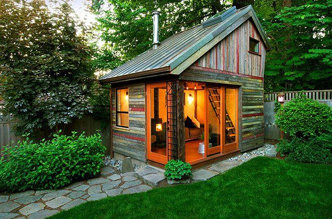 Charmant Backyard House, Portland, Oregon   Adventure Journal