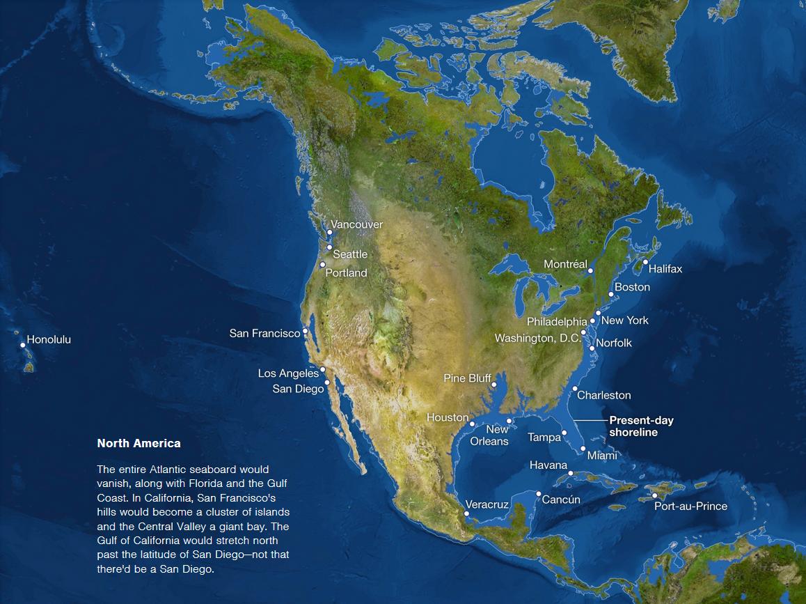 Map Of Texas If All Ice Melted b8e999ed2905501328efc41884a76c58.png (1158×867) | Sea level rise