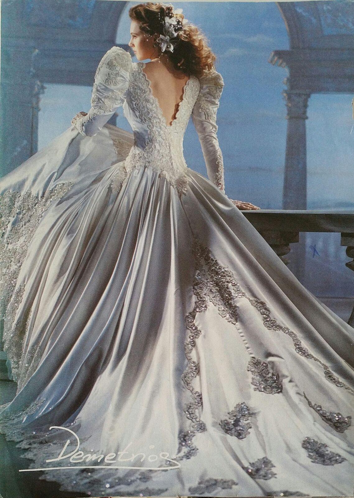 Demetrios back view demetrios pinterest wedding dress