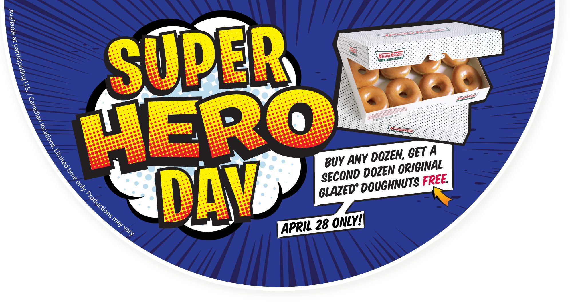 Buy One Get One Dozen Krispy Kreme Doughnuts Krispy Kreme