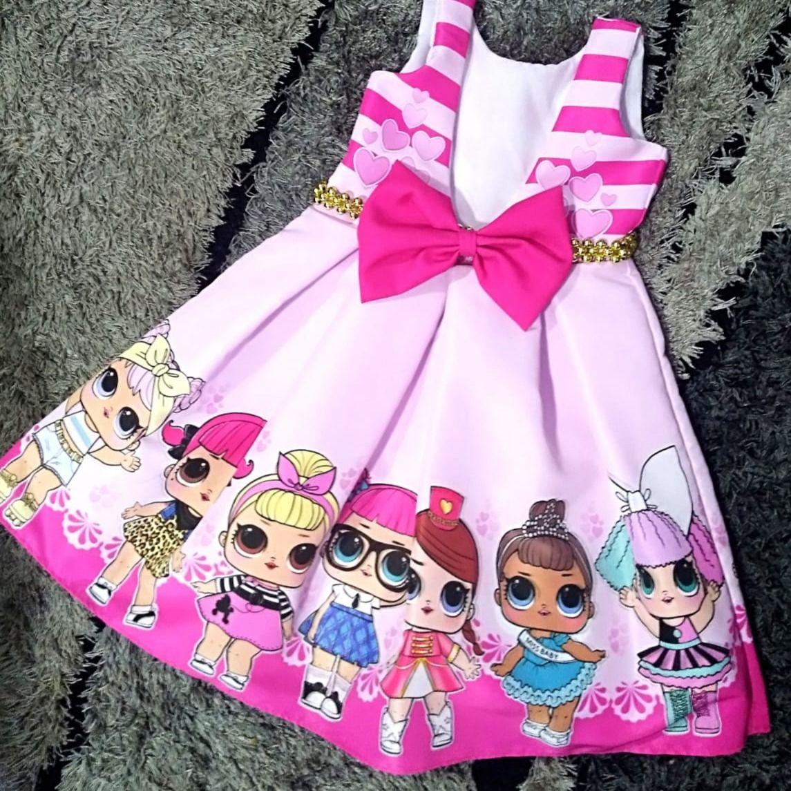 Pin En Vestido Infantil