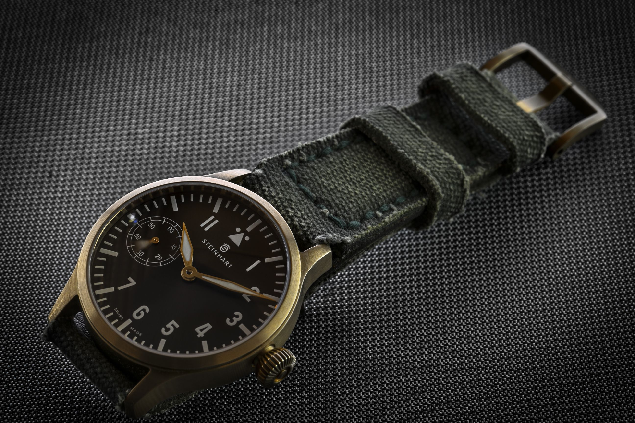 webbing canvas fr christopher nk ward bronze trident strap watches pro