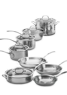 Cuisinart Multiclad Pro Stainless Steel 12 Piece Cookware