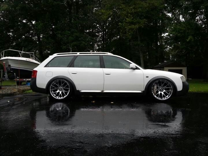 Audi Allroad Avant wagon C5 The body style was made