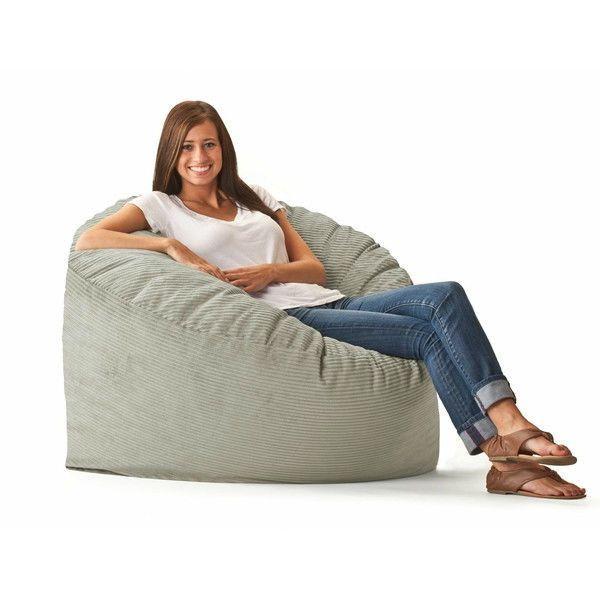 medium size beige beach corduroy bean bag chair made in usa rh pinterest co uk