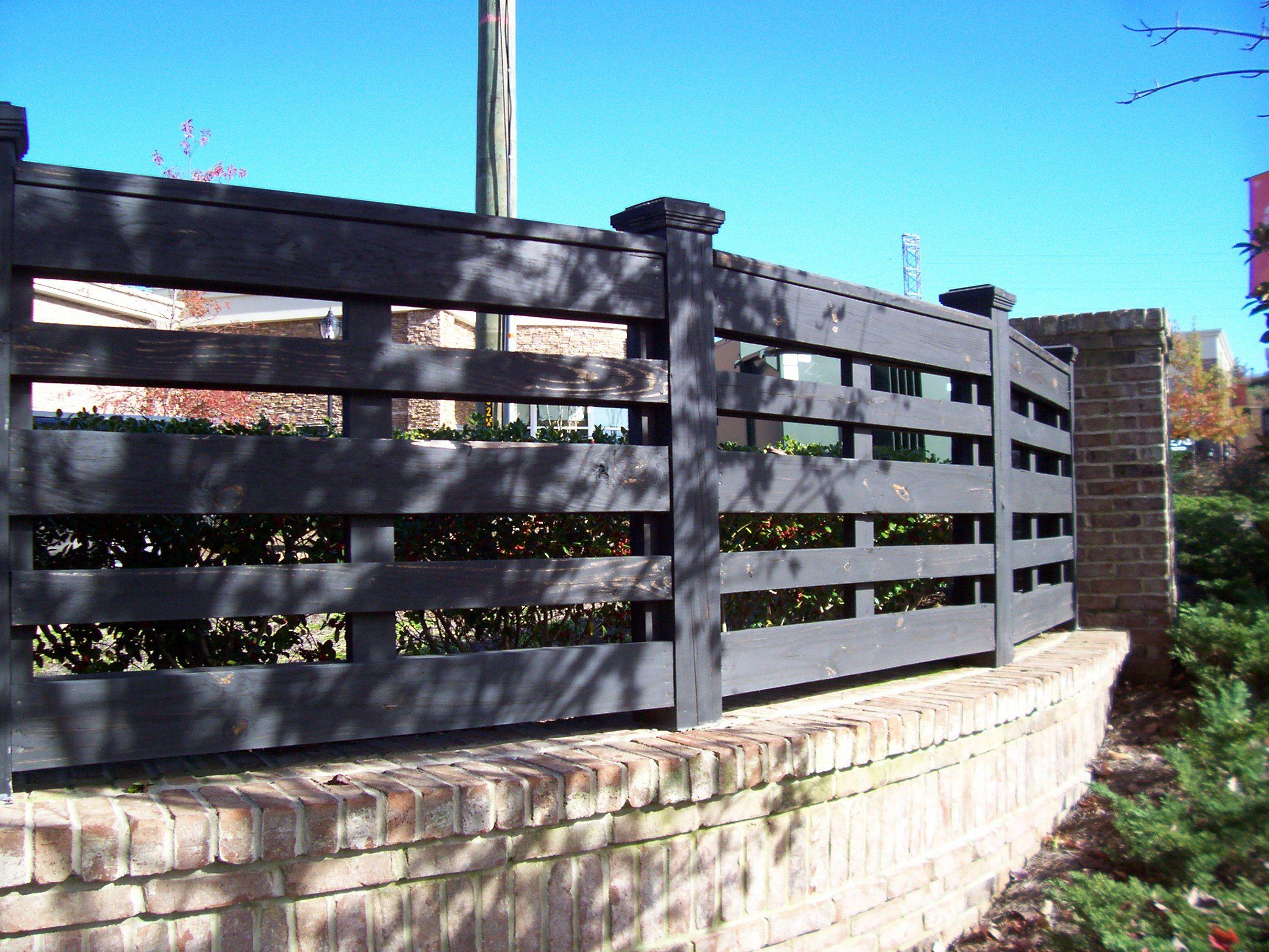 Custom black wood horse fence design by mossy oak fence company custom black wood horse fence design by mossy oak fence company orlando and melbourne baanklon Gallery