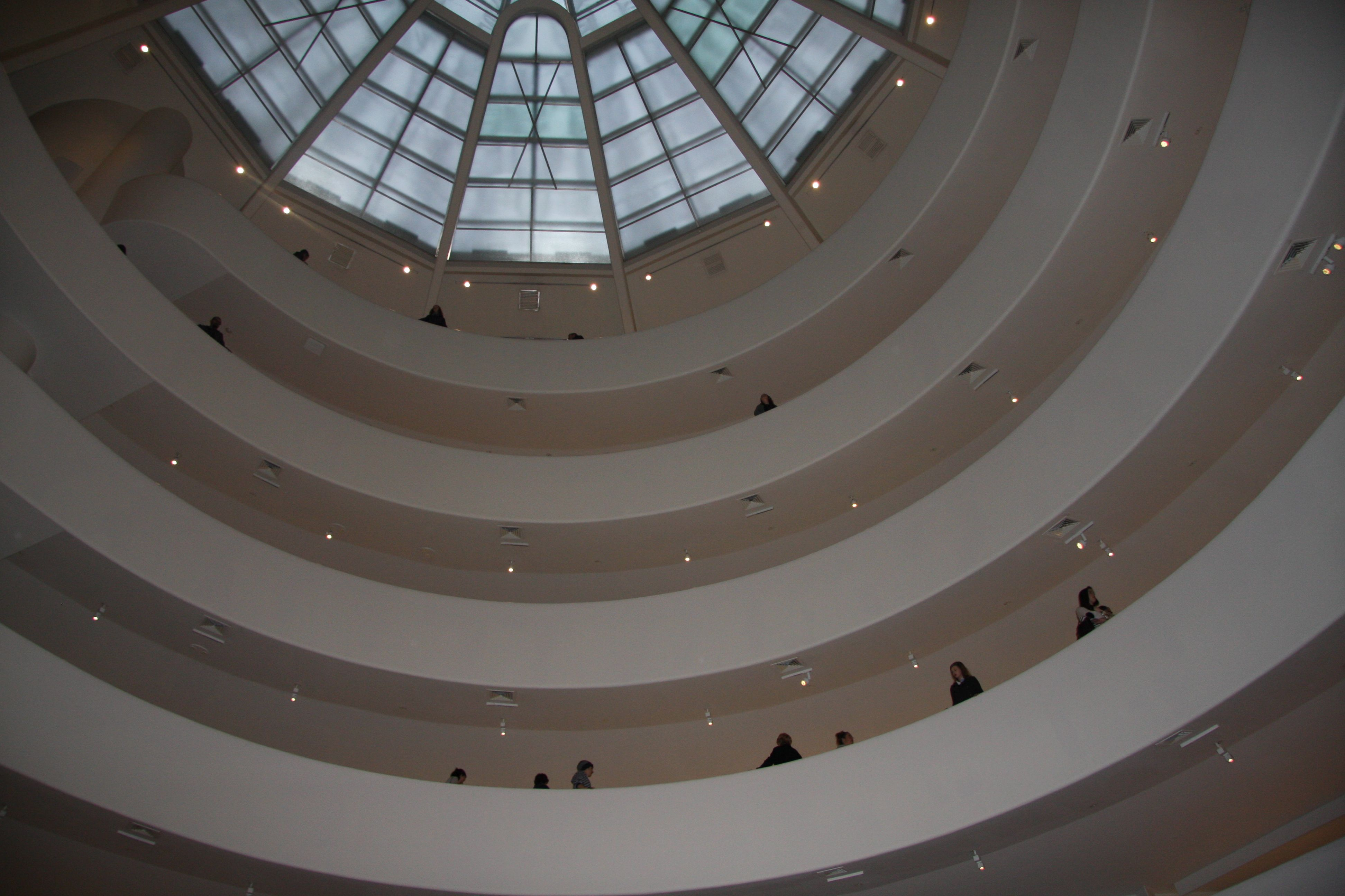 Inside the Guggenheim | Guggenheim, Museum  Guggenheim Inside