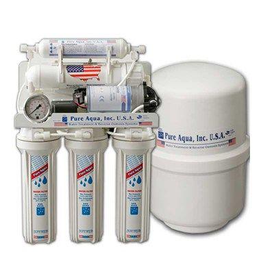 فلتر مياه 7 مراحل امريكي تايواني Water Purifier Water Treatment System Water Filter