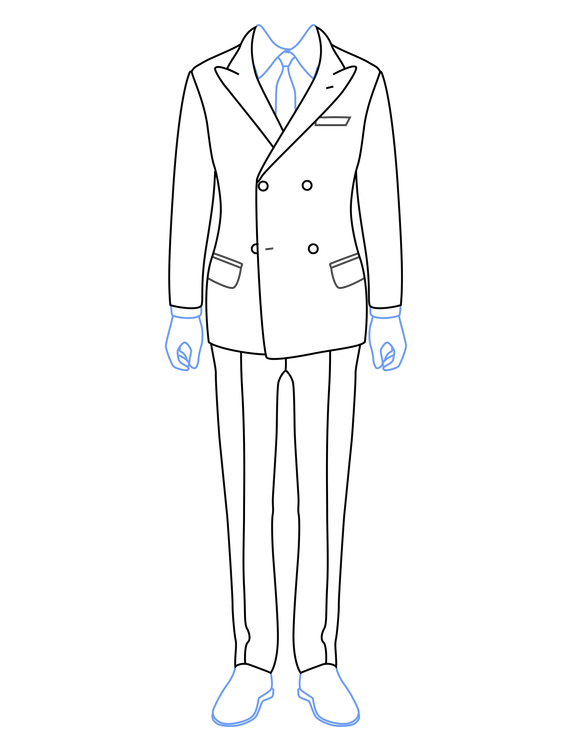 pattern-template-double-breasted-jacket