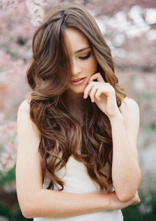 Wedding Hairstyles For Long Hair Down With Veil Wedding Hairstyles For Long Hair Hair Styles Long Hair Styles