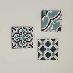 Lote de 3 placas decorativas, Adid La Redoute Interieurs