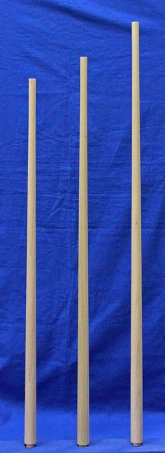 Best 1 1 4 Round Tapered Balusters Wood Balusters Stair 400 x 300