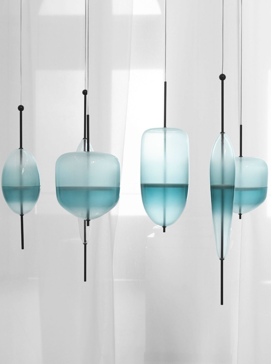 Glas Lamp Murano Glass Pendant Lamp Flow T By Gallery S Bensimon