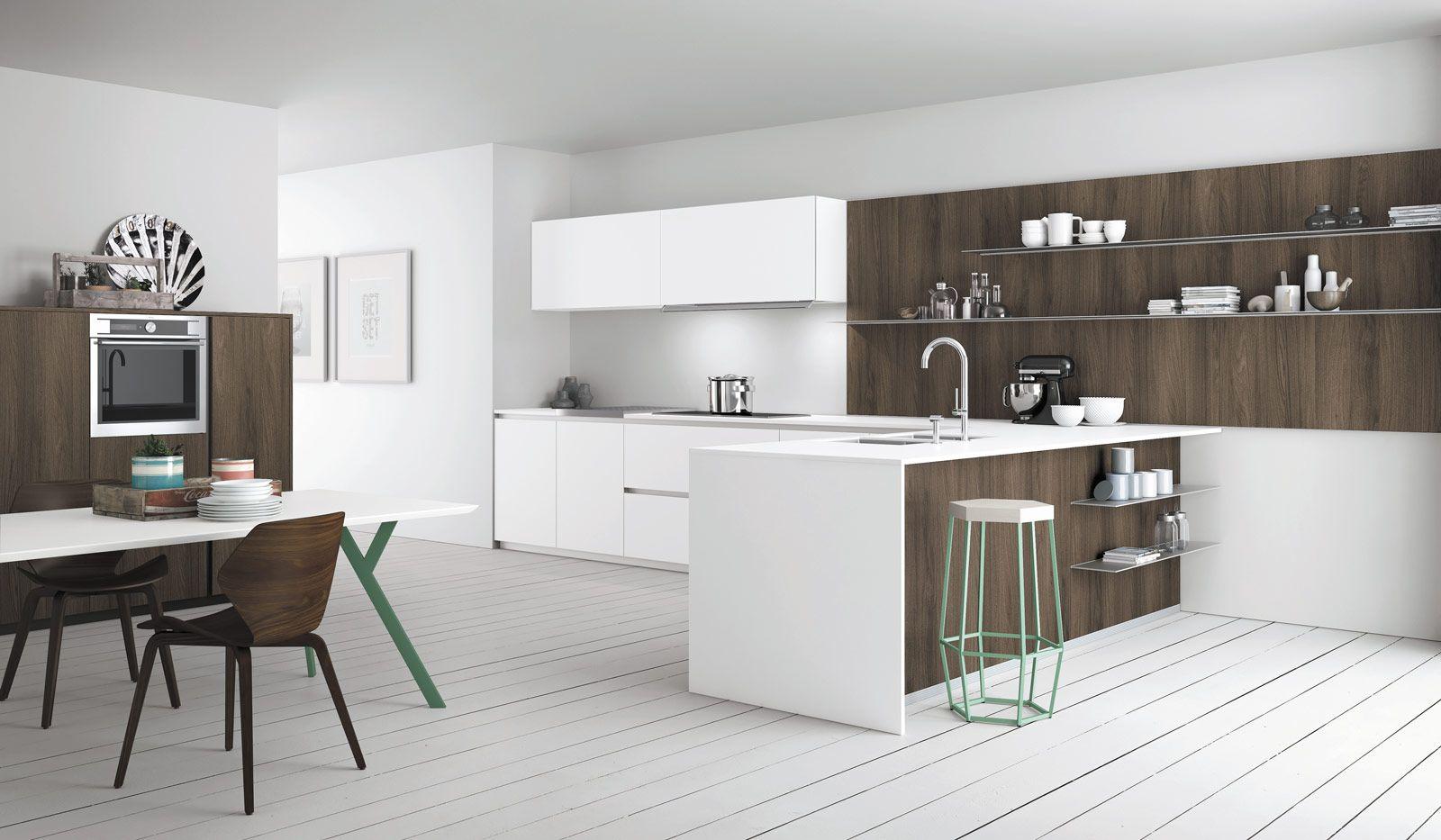 Cucine effetto legno per un ambiente caldo ed elegante | casa dolce ...