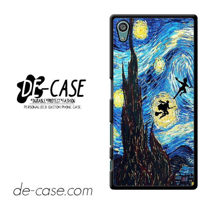 Peter Pan And Harry Potter Starry Night DEAL-8547 Sony Phonecase Cover For Xperia Z5