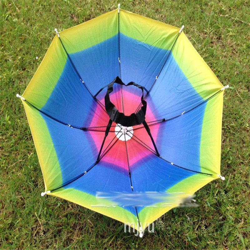 4452593d Fishing Umbrella Outdoor Brolly Fishing Tackle Accessory Camping Hiking Hat  Caps Anti Rain Sun Shade Festivals fo06 #FishingUmbrella