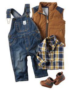ef4d6be1f Baby Boy CARAUGUST2F16_CA | Carter's OshKosh Canada Looks Infantis, Bebês  Fofos, Roupas De Bebê