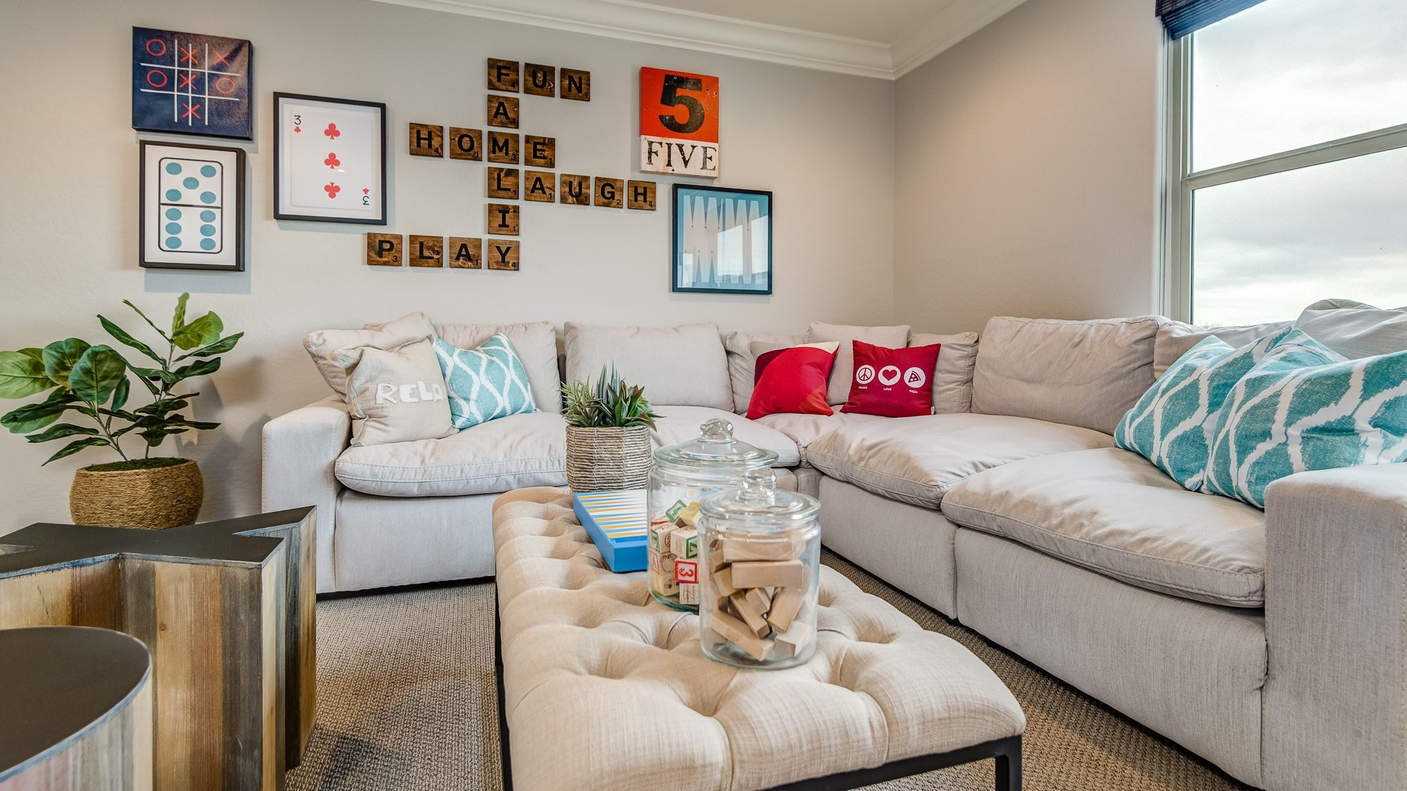 The Perfect Family Hangout In 2020 Livingroom Layout Woodside