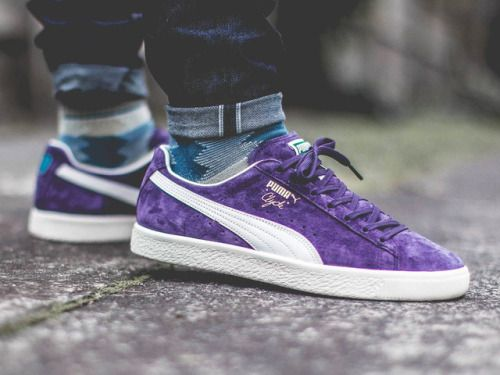 pas cher pour réduction 13bf7 75aeb Puma Clyde Premium - Sweet Grape/Whisper White - 2017 (by ...