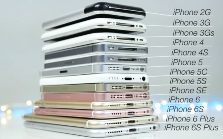 Comparison Video Drives Home Why Iphone 6s Is Apple S Best Ever Phone Iphone Apple Phone Iphone 7 S
