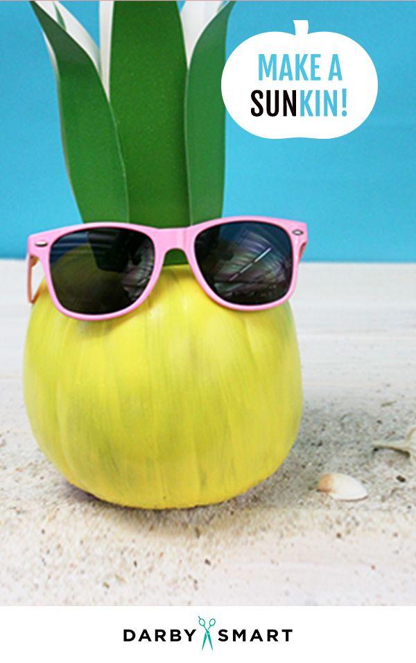 Not Your Average Pumpkin Pinterest Pumpkin ideas, Kids party - halloween decorations for kids to make