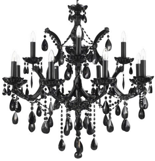 Zening life ultra modern black chandeliers candelabros pretos jet black chandelier crystal lighting chandeliers with black shades mozeypictures Image collections