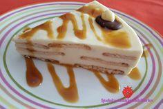 ¿Has visto que aspecto tan irresistible tiene esta tarta de chocolate blanco? Verás qué fácil es de preparar.