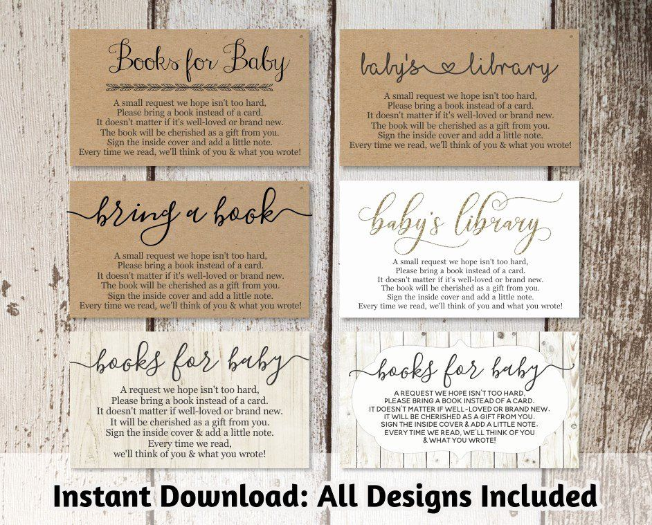 Avery Business Card Template 28878 Inspirational Printable Baby Shower Book Request Bring A Book Avery Business Cards Baby Shower Book Baby Shower Invitations