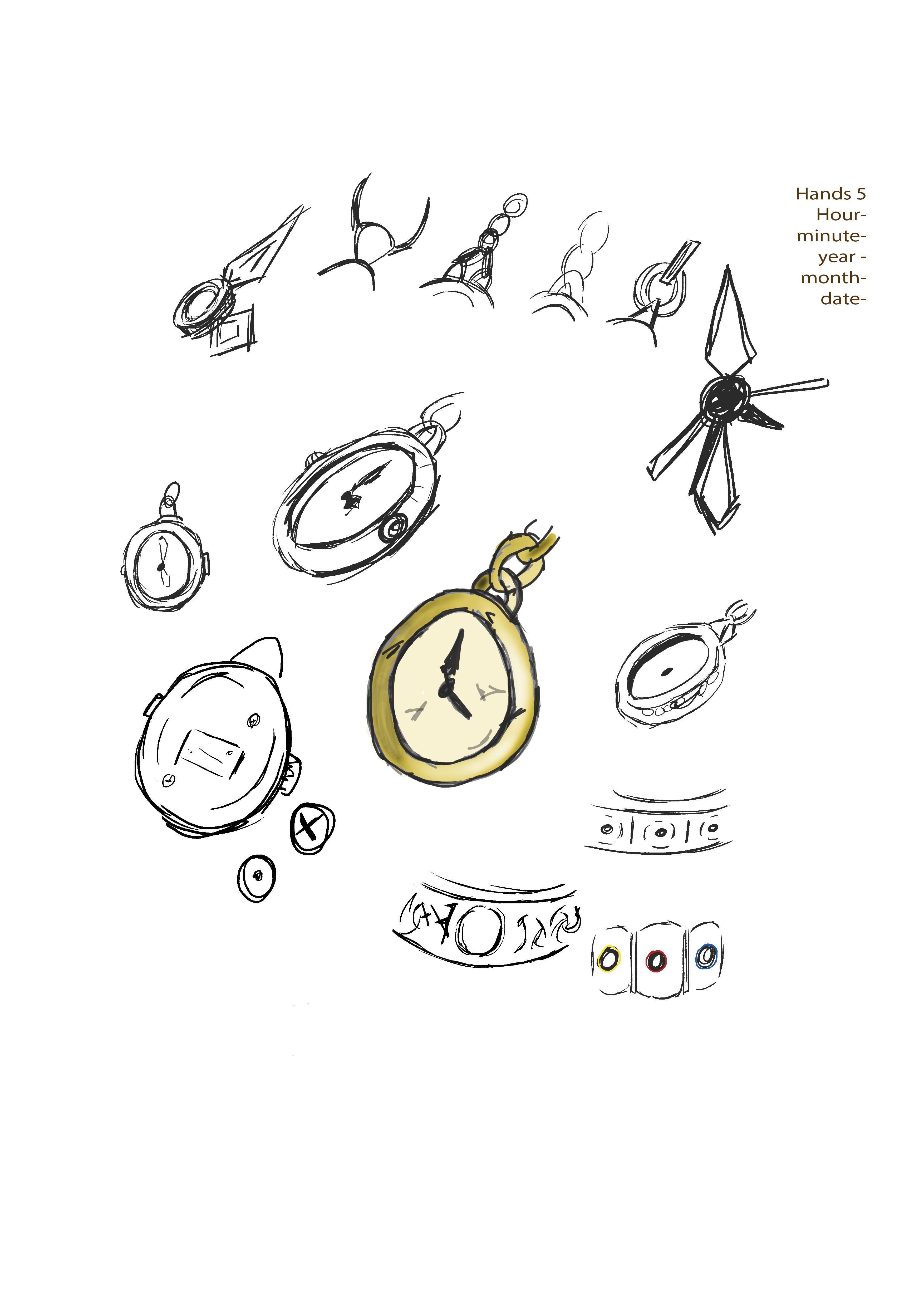 Pocket Watch designs