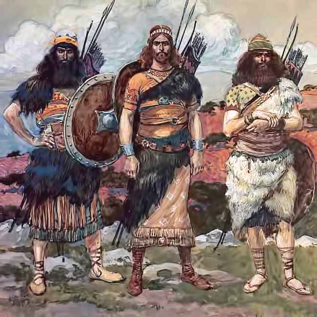 Mighty Warriors In The Bible: Three Of David's Captains >> These Are The Names Of David