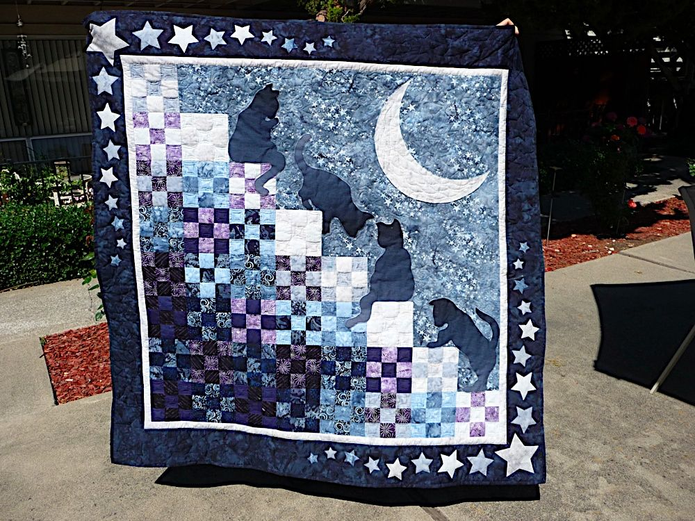 cat stairway to heaven - Google Search | Quilt Favorites ...