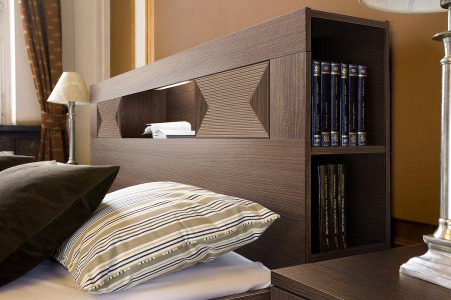 Pingl par bruno lallier sur t te de lit avec rangement Organisation chambre adulte