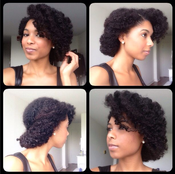 Protective Natural Hairstyle
