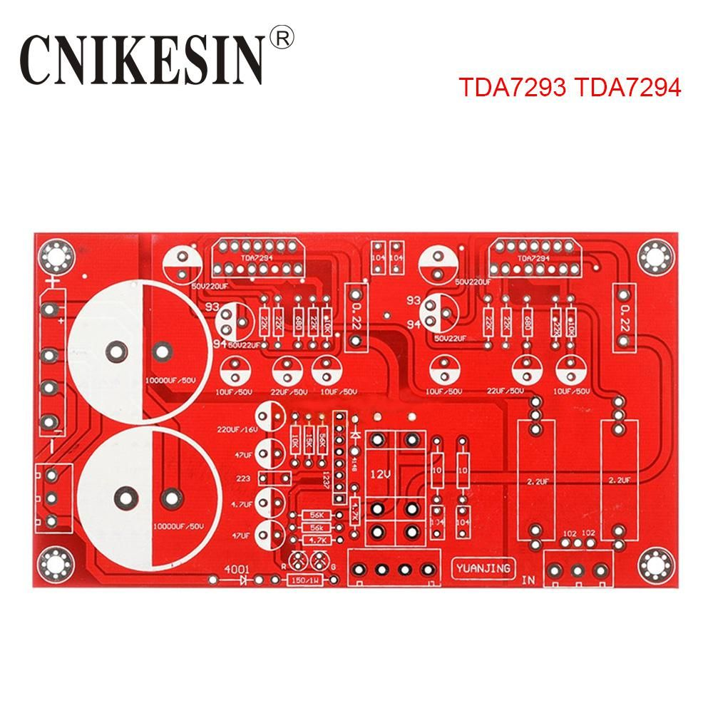 High Quality TDA7293 Amp Amplifier Bare PCB Board For DIY
