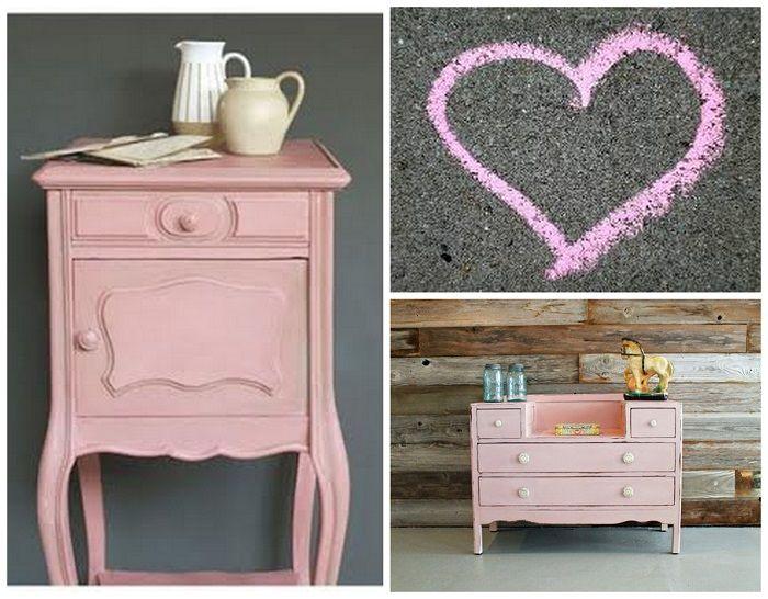 Chalk paint pintura efecto tiza pintura a la tiza - Mesas pintadas a la tiza ...