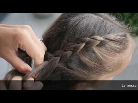 Tuto coiffure YouTube Tuto coiffure, Coiffure facile