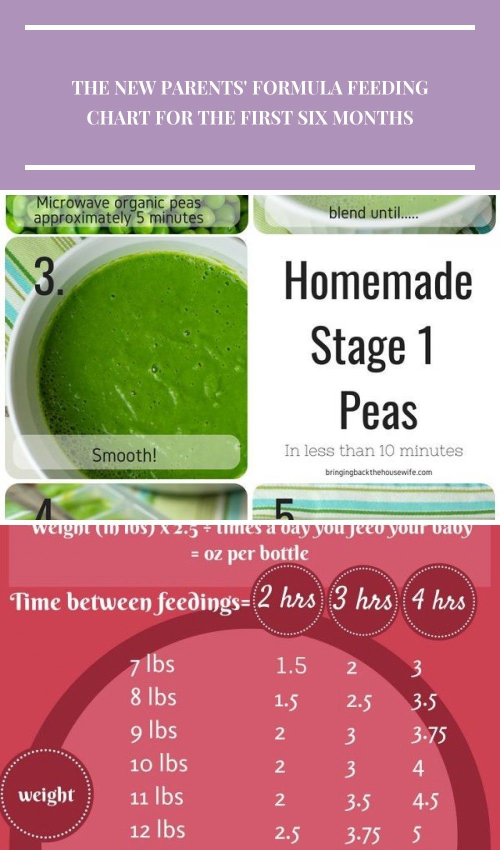 Homemade Stage 1 Pea Puree! Ready to start making homemade