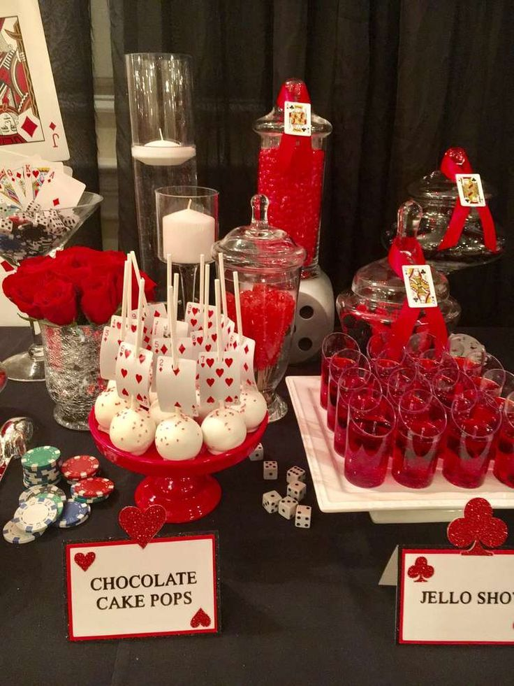 Photo of Casino Night  Dinner Party Party Ideas   Photo 4 of 30