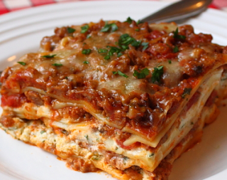 A Christmas Lasagna With Images Chef John Lasagna Recipe Recipes Lasagna Recipe