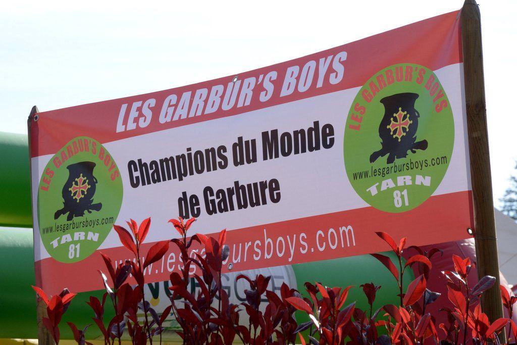 Les Garbur's Boys - Champions du Monde de Garbure