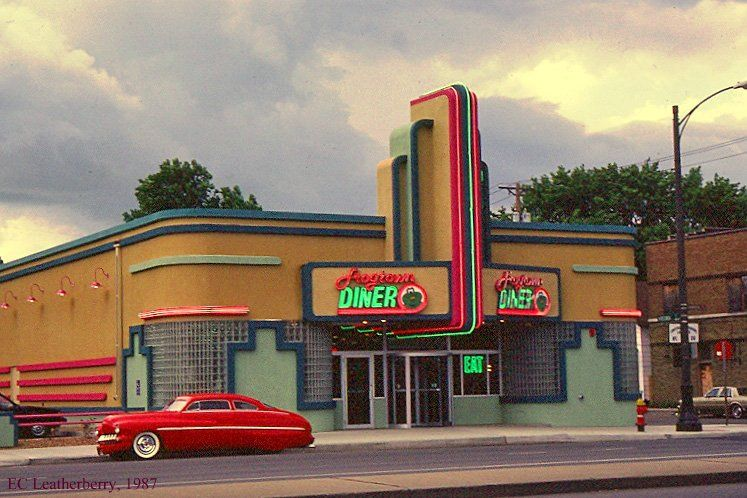 Art Deco Architecture: Frogtown Diner, St. Paul, Minnesota ...