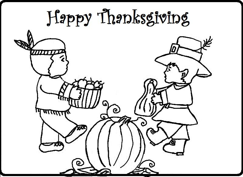 thnaksgiving coloring pages Thanksgiving & Fall Coloring