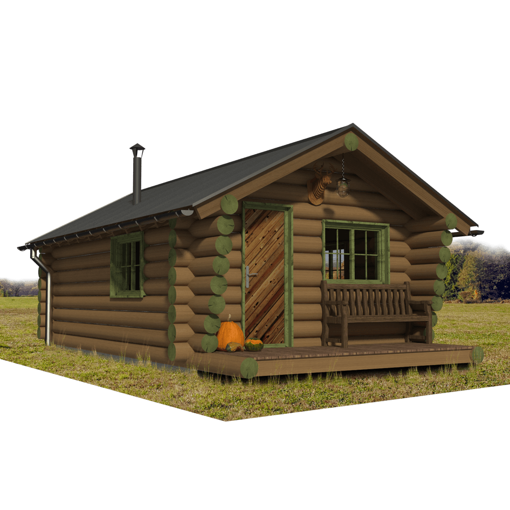Hunting Cabin Plans Martha